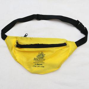 Other - 90's VTG BRIGHTON GARDENS Yellow Nylon Fanny Pack